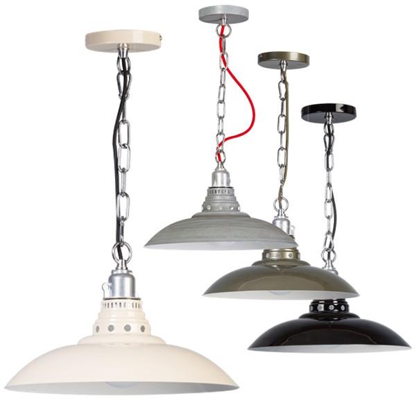 Industrielampe Hängelampe FASANO Metall Hängeleuchte Lampe Leuchte Deckenlampe